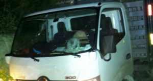 Camión donde se cometieron los asesinatos
