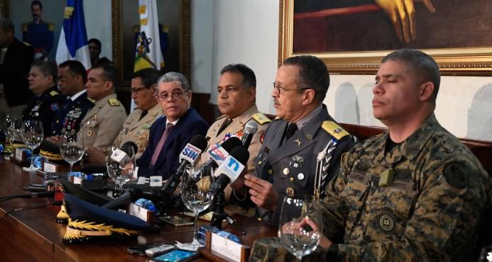 seguridad ciudadanaX Interior y PolicíaX DefensaX Policía NacionalX patrullajeX Departamento Nacional de Investigaciones (DNI)X Dirección Nacional de Control de Drogas (DNCD)