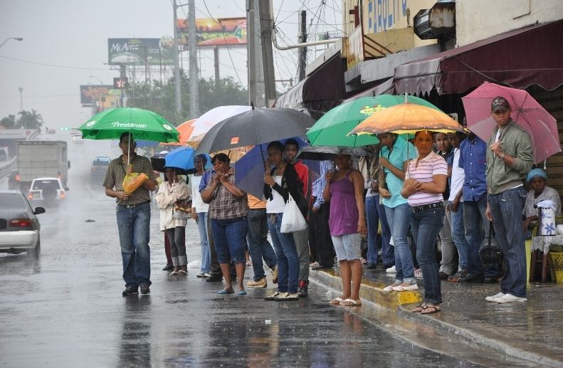 X HigüeyX San Rafael de YumaX vaguadaX región orientalX sistema frontal en el Norte del paísX alerta ante posibles inundacionesX Oficina Nacional de Meteorología (Onamet)