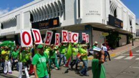 X marcha verdeX santiagoX fin de la impunidad y corrupciónX hermanas mirabalX calle el sol