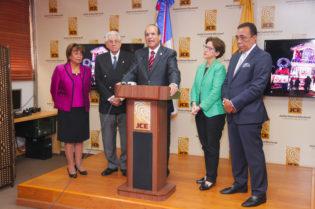 X Junta Central electoralX PLDX PRMX PRSC y PRDX artículo 49 de la Ley ElectoralX partidos políticosX 800 millones