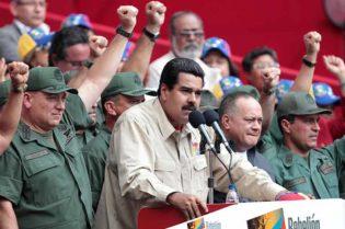 """X presidente venezolanoX Nicolás MaduroX cuerpo de miliciaX fusil """"garantizado"""