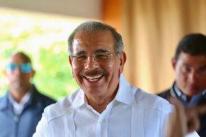 Danilo Medina despide el 2017